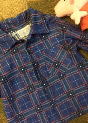 Рубашка фланелевая байковая