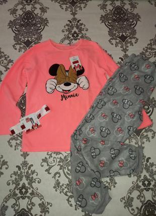 Теплая пижама primark