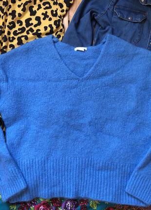 Тёплая кофта свитер шерсть