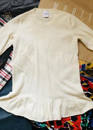 Шерстяная ангоровая кофта свитер шерсть