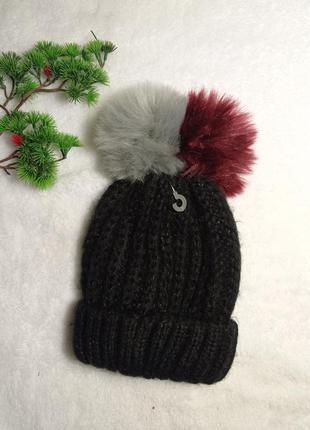 Шапка жіноча в'язана / шапка женская