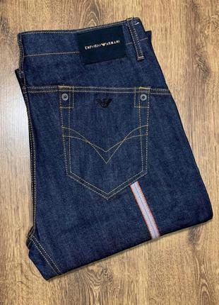 Armani jeans размер 34/36. джинсы