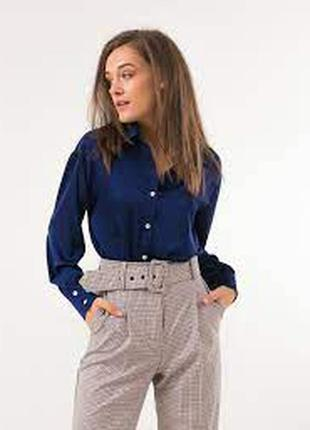Лаконічна шовкова блуза сорочка biaggini 42p.