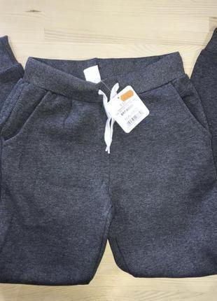 Glo-story ! качественные утеплённые спортивные штаны / на флисе