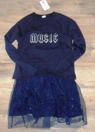 Платье для девочек на байке  glo-story