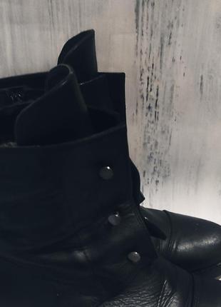 Сапожки ботинки натуральная кожа