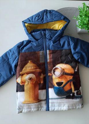 Куртка демі disney