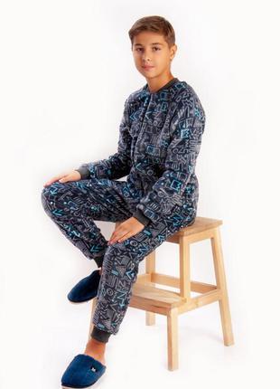 Пижама, комбинезон для мальчиков 140-164