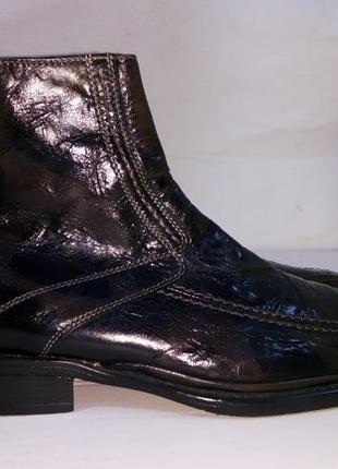 - фирменные кожаные ботинки челси - franco fortini - 41 -