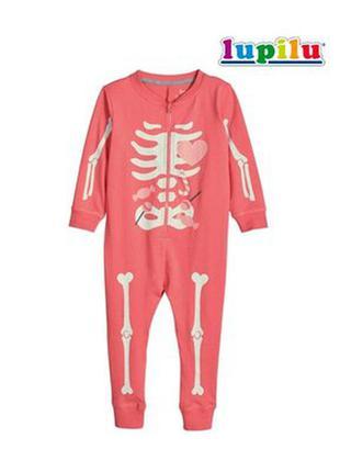 Хлопковый человечек пижама