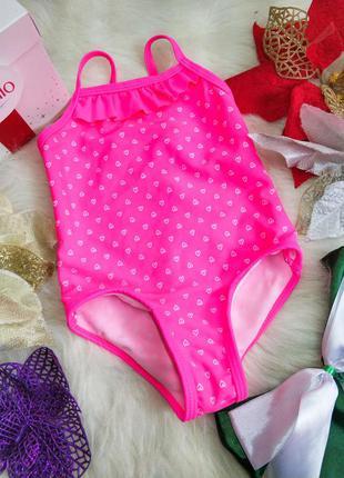 Яскравий купальник для дівчинки 6-9 місяців primark