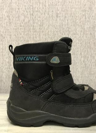 Viking gore tex ботинки детские на мембране