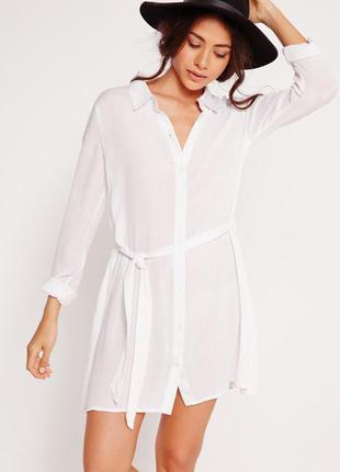 Классная туника платье-рубашка на пляж