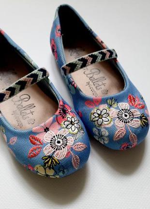 Шикарні туфлі балетки george розмір 27