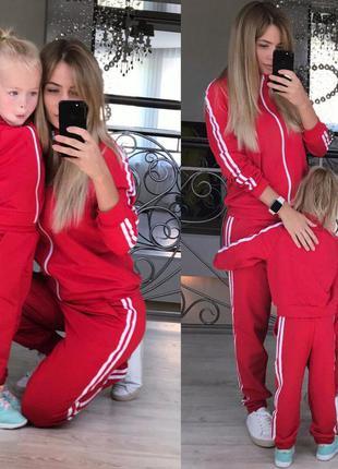 Костюм мама+дочка