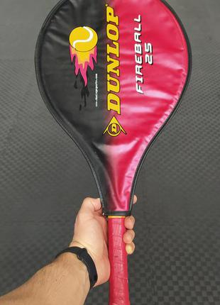 Ракетка для большого тенниса dunlop 25 дюймов оригинал
