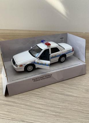 Машинка металева kinsmart ford crown victoria police intereptor