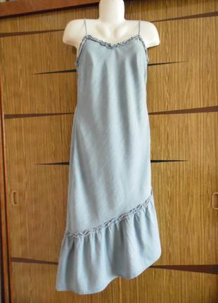 Платье сарафан f&f размер 12(40)– идет 44-46-48.