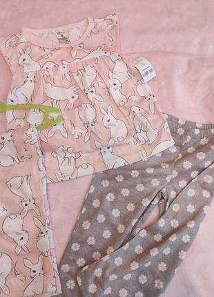 Пижама (футболка+2штанишек)