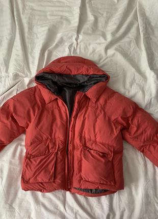 Тепла куртка з капішоном