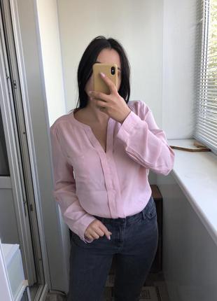 16 размер нежная блузка блуза рубашка вискоза