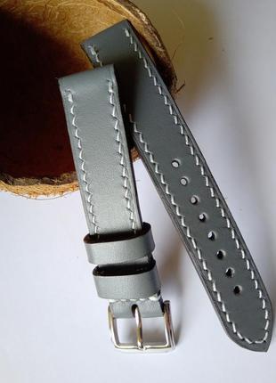 Кожаний ремешок для часов, 18 мм