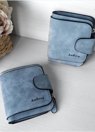 Трендовий жіночий замшевий гаманець baellery forever mini