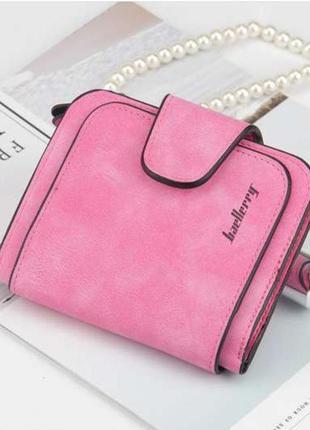 Замшевий жіночий гаманець baellery mini