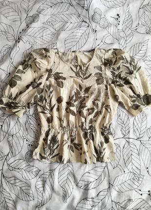 Молочная блуза marc o polo