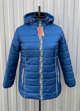 Стильная весенняя куртка,на большие размеры,72,4 расцветки.