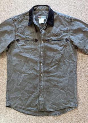 Ковбойская рубашка kakadu traders australian nashville  western shir