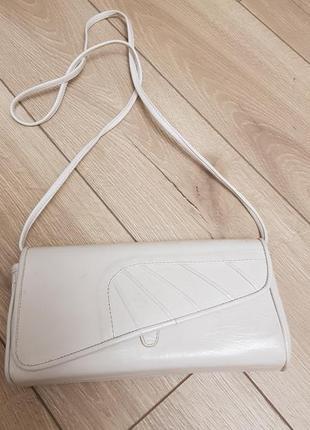 Кожаная сумка клатч, маленькая сумочка кожа
