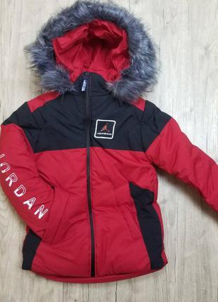 Зимняя куртка для мальчика рр.98-122 beebaby