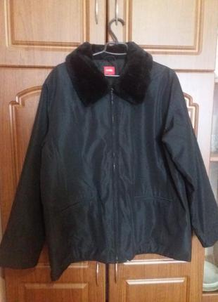 Мужская куртка с воротником m-l