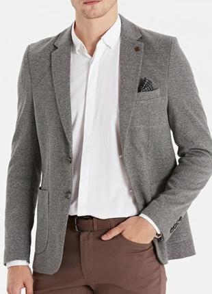 Мужской серый пиджак waikiki, стильный жакет, блейзер в стиле кэжуал