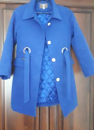 Пальто кашимірове на дівчинку