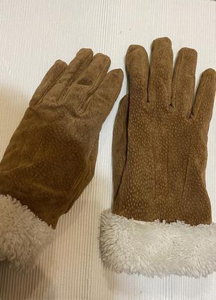 Шкіряні рукавиці biaggini