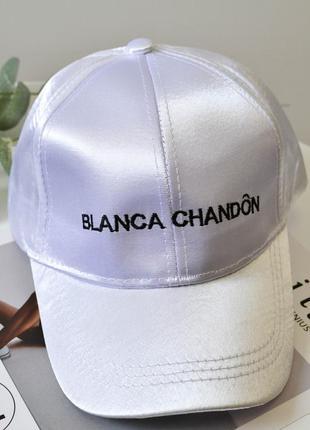 Модная кепка blanca chandon белого цвета