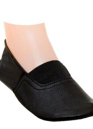 Кожаные чешки для танцев гимнастики  31 р. – 19,5 см.
