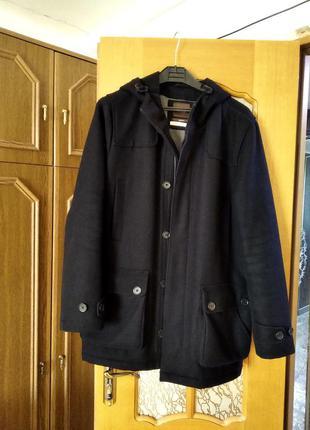 Пальто чорне duffer of st. george, m розмір