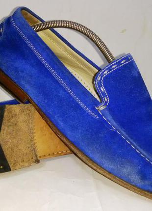 - фирменные кожаные лоферы мокасины - georges - 39-