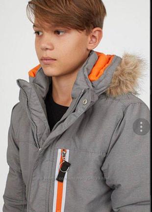 Зимние куртки h&m 134 и 158 р.