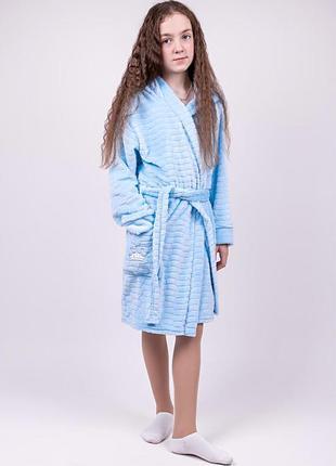 Халат ціна від 350 грн. дитячий, блакитний