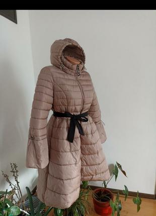 Плащ пальто пуховик зима