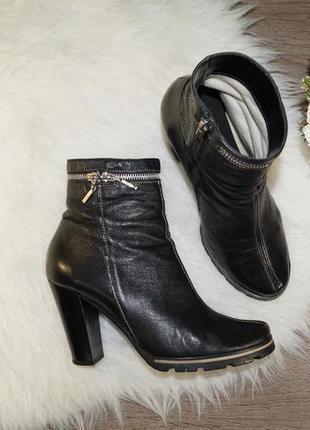 (40р./26см) кожа! базовые ботиночки