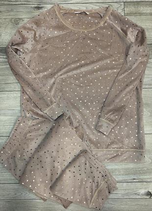 Пижама тёплая для дома