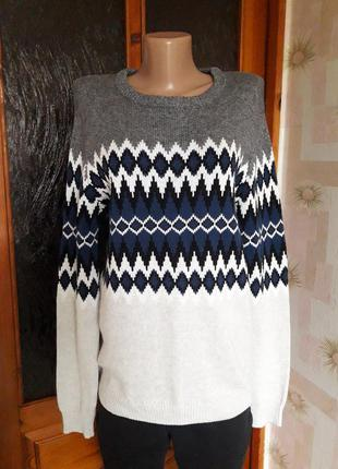 Мягкий, нежный, тёплый свитерок от испанского бренда pull &bear