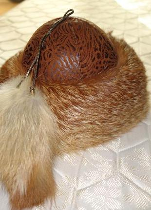 Боярка шапка из меха лисы2