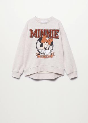 Світшот minnie mouse,  mango, оригінал, з німеччини!