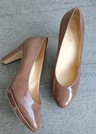 Женские фирменные оригинальные туфли от gabor 37 р 24 см